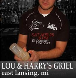 Lou & Harry's Grill Fundraiser